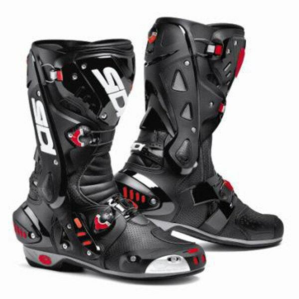 【シューズ】【SIDI】 RACING VORTICE AIR BOOT ブラック/ブラック BK/BK 39 (25.0cm) シディ ヴォルティス エアー レーシング ブーツ 靴 シューズ