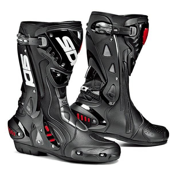 【シューズ】【SIDI】 RACING ST BOOT ブラック/ブラック BK/BK 41 (26.0cm) シディ エスティー レーシング ブーツ 靴 シューズ