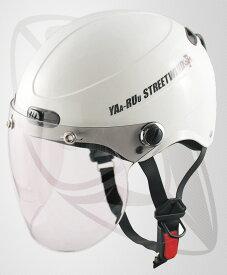 半キャップ・ハーフヘルメット ホワイト(bstr-jt)半キャップ・ハーフヘルメット (サイズ 58~59cm)(SG規格認定)(125cc以下対応)(Freeサイズ)送料無料!