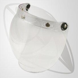 JJ2 BUBBLE SHIELD フリップアップ一体式シールド(クリアー) UVカット・ハードコート