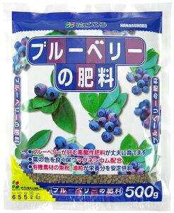 花ごころ ブルーベリーの肥料 500g ブルーベリーが好む酸性に調整された肥料 有機質肥料の魚粉や油かす配合 植物の生育をしっかりサポート。 果樹 園芸 ガーデニング ブルーベリージャム