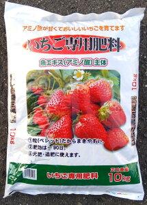 ☆コスモ水産☆ いちご用肥料 10kg 農家の方や家庭菜園に 有機質肥料 有機栽培 アミノ酸が甘くておいしいイチゴを育てます 粒状だから撒きやすい 元肥 追肥 あまおう 章姫 さがほのか さち