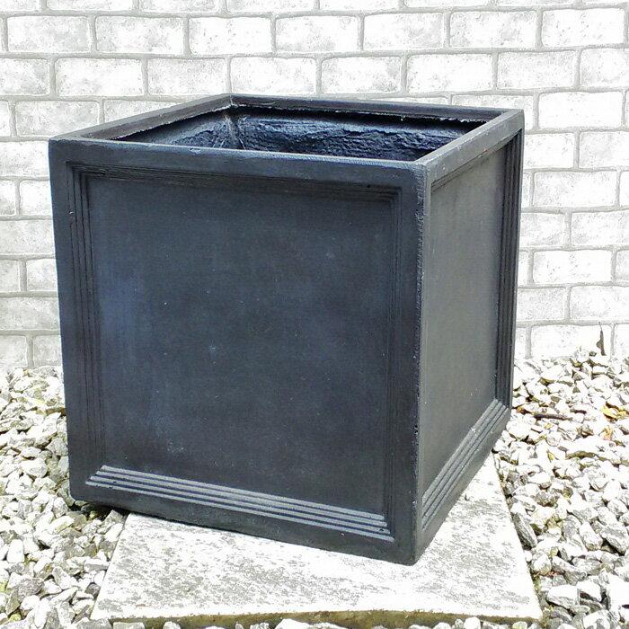 【軽いので移動ラクラク】 ファイバークレイ フィリオ グレー 38cm 植木鉢 グラスファイバー鉢ですので寒さに強い! 園芸 ガーデニング おしゃれ
