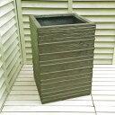 ☆週得セール☆ ファイバークレイ 植木鉢 クリフ ローゼンポット 36cm W001 グレー バラにオススメの植木鉢 アンティ…