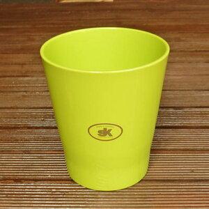 【ドイツ製】 鉢カバー メリーナ(キャンディー) レモングリーン 14cm 4号鉢用 ハイドロカルチャー(水耕栽培)に最適な植木鉢(容器) おしゃれ 陶器鉢SOENDGEN KERAMIK社製 インテリアに 観葉