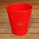 鉢カバー ドイツ メリーナ(キャンディー) レッド 赤 14cm 4号鉢用 ポットカバー ハイドロカルチャー(水耕栽培)に…