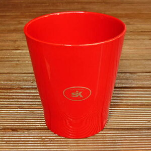 鉢カバー ドイツ メリーナ(キャンディー) レッド 赤 14cm 4号鉢用 ポットカバー ハイドロカルチャー(水耕栽培)に最適な植木鉢(容器) おしゃれ 陶器鉢SOENDGEN KERAMIK社製 インテリアに 観