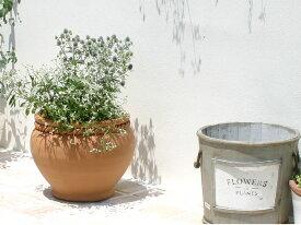 人気の植木鉢 クリスティーナ 24cm スペイン製 植木鉢 テラコッタ おしゃれ 陶器鉢 素焼き鉢 園芸 ガーデニング スペイン鉢 手作り ハンドメイド プランター かわいい *Spanish Terracotta*