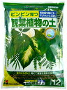 【花ごころ】 観葉植物の土 12L 元肥入り 初めての方でも安心。ピンピン育つ!! 培養土 園芸用土 ガーデニング用土 …