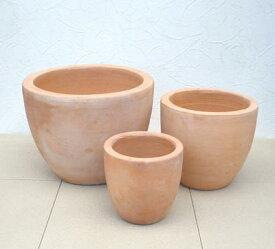 植木鉢 シトラスポット 〜3点セット〜 NC1004 『シンプル過ぎる!!』のが人気の秘訣 人気のベトナム鉢 テラコッタ 植木鉢 ガーデニング