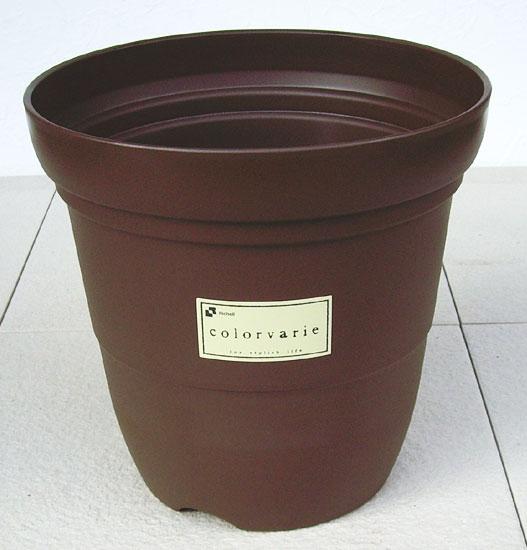 【リッチェル】 カラーバリエ 長鉢 Cブラウン 10号 シンプルなスタイルの可愛らしいプラスチック鉢です。 プラスティック プラ鉢 プランター 植木鉢 園芸 ガーデニング 大型 深型 おしゃれ 野菜