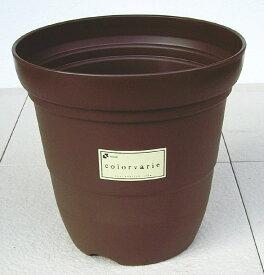 リッチェル カラーバリエ 長鉢 Cブラウン 10号 シンプルなスタイルの可愛らしいプラスチック鉢です。 プラスティック プラ鉢 プランター 植木鉢 園芸 ガーデニング 大型 深型 おしゃれ 野菜