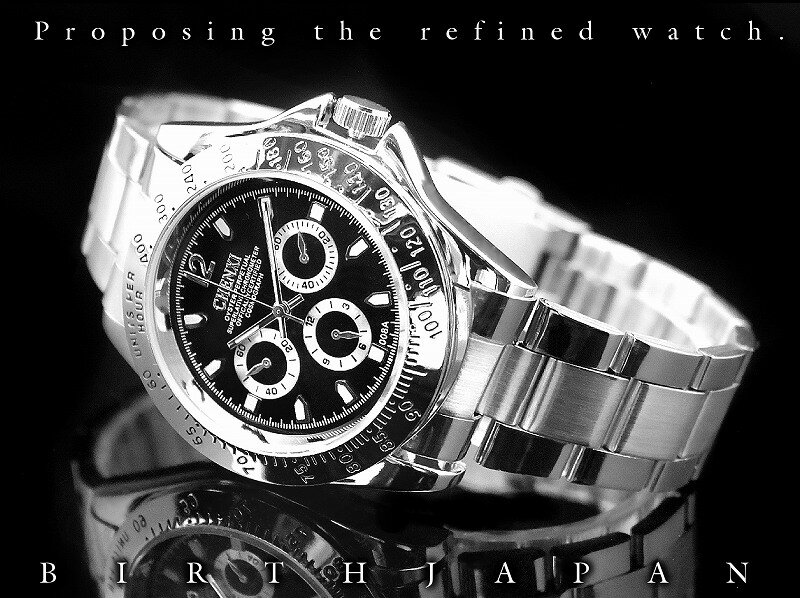オラオラ系 ヤクザ ヤンキー ポイント10倍&定形外郵便送料無料cx-008 高級感溢れるクロノグラフデザインデイトナタイプ風腕時計 小物ウォッチ デイトナ風 ちょいワル 悪羅悪羅系