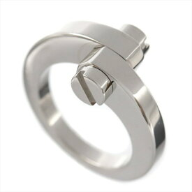 [返品OK] カルティエ メノットリング #52 約12号 K18WG 750 ホワイトゴールド 指輪 ジュエリー アクセサリー Cartier【中古】【送料無料】