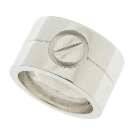 [返品OK] 美品 カルティエ ハイラブリング 指輪 K18WG 750 ホワイトゴールド #46 約6.5号 仕上済 ジュエリー CARTIER【中古】【送料無料】