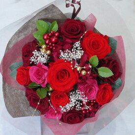 【プリザーブドフラワー 花束】/ワイン花束L 【プリザーブド・フラワー】【結婚の御祝い】【プロポーズの花】【成人のお祝い】