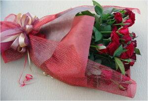 【バラの花束】赤バラ花束&ブーケ【誕生日花】【記念日 花】