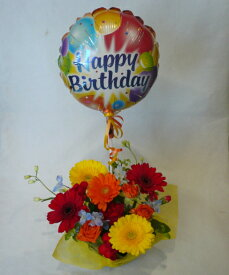 【バルーンフラワー】 birthday2 あす楽対応 【誕生日 花】【誕生日の花】