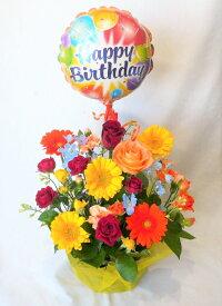【バルーンフラワー】豪華なお花のbirthday2 あす楽対応 【誕生日の花】【出産祝い】