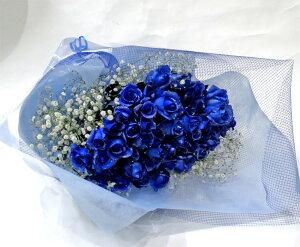 シルバーラメブルーローズ・青いバラ!50本