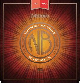 D'Addario・ダダリオ / マンドリン用弦 NBM1140 Nickel Bronze Mandolin Set, Medium, 11-40 4本セット