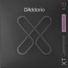 D'Addario・ダダリオ / マンドリン用弦 XTM11540 XT Mandolin Phosphor Bronze, Custom Medium, 11-40 4本セット