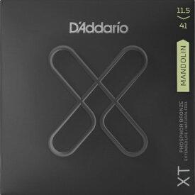 D'Addario・ダダリオ / マンドリン用弦 XTM11541 XT Mandolin Phosphor Bronze, Medium / Heavy, 11.5-41 4本セット