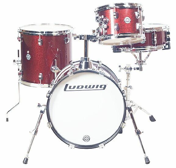 Ludwig ラディック / BREAKBEATS ブレイクビーツ LC179X 025・Wine Red Sparkle 小口径ドラムSet【smtb-tk】