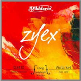 ★ D'Addario ダダリオ / Zyex ザイエックス (ビオラ弦 ADGCセット)【smtb-tk】