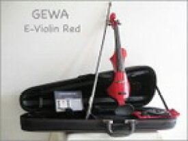 【 送料無料!】ドイツ製!GEWA ゲヴァ RED・4/4サイズ エレクトリック・バイオリンSet 【smtb-tk】