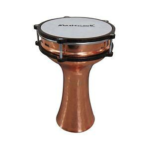 ◆ トルコ製!Masterwork・マスターワークス / TC-H104-Turkish Copper Hammered- Darbuka・Natural ダラブッカ 民族楽器【smtb-tk】