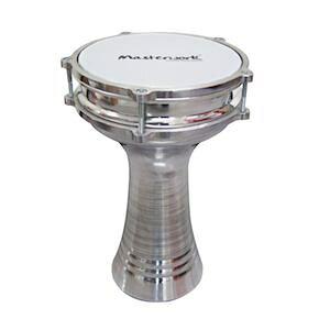 ◆ トルコ製!Masterwork・マスターワークス / TA-P104-Turkish Aluminium Plain - Darbuka・Natural ダラブッカ 民族楽器【smtb-tk】