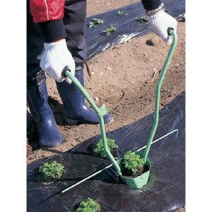 ハラックス HARAX ウエラック 万能移植器 3寸ポット UR-90マルチ 植付け 穴あけ 苗 植付 農業用 農作業 農用 農具