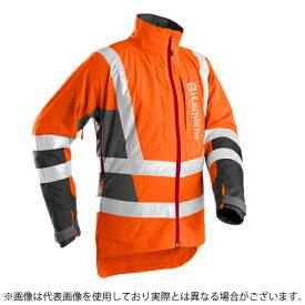 送料無料 ハスクバーナ フォレストジャケット T-II ハイビズ S〜XXL EN471 クラス3 ワークウェア