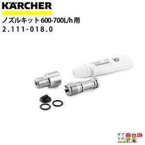 ケルヒャー INNOツインフォームランス ノズルキット 2.111-018.0 600-700L/h 用