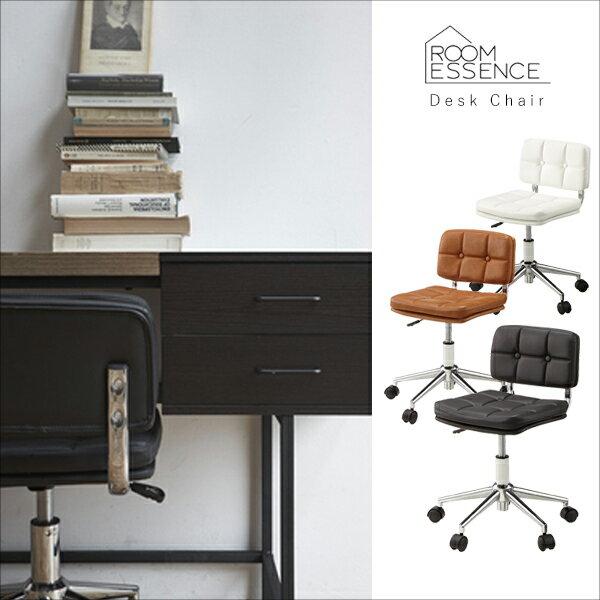 デスクチェア oaチェア ワークチェア パソコンチェア pcチェア 椅子 いす 昇降機能 ソフトレザー 合皮 合成皮革 オフィス 作業 シンプル デザイン 肘無し RKC-301BK/RKC-301BR/RKC-301WH