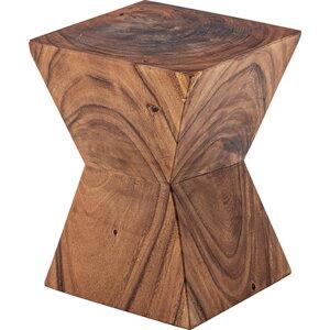 ウッドスツール 幅33×高さ42cm スツール 椅子 サイドテーブル モンキーポッド cafe カフェ おしゃれ 木製 JW-103