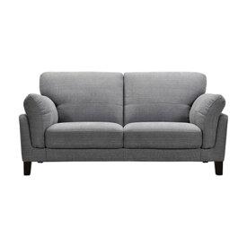 ソファ 幅178cm 3人掛け ソファー 椅子 ファブリック 贅沢 座り心地 ゆったり 木フレーム ライトグレー WE-150LGY