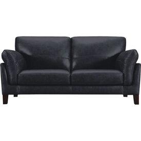 ソファ 2人掛け 幅178cm ソファー 椅子 本革 レザー 贅沢 座り心地 アルタイル WE-250BK WE-250BR