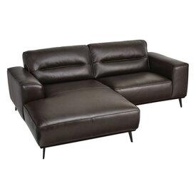 カウチソファ 向かって左カウチ 幅214cm ソファー 椅子 本革 レザー 贅沢 座り心地 マグナ WE-903B