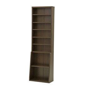 【代引き不可】 不二貿易 (FUJIBOEKI) 書棚 幅60cm カラー:ダークブラウン シンプルデザインがおしゃれ オフィスからご自宅まで 本棚・ブックラック・書斎 BK-6020 67764