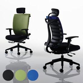 【法人・店舗向け配送】様々な機能を標準装備した高機能のオフィスチェアオフィスチェア ハイバック 肘付 PCチェア デスクチェア パソコンチェア ビジネスチェア GD-C1