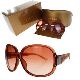 有古馳GUCCI太陽眼鏡GG花紋紅塑料GG2950/K/S眼鏡擦布情况保存箱子的09V2032