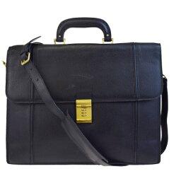 巴裏BALLY商務包公事包手提包挎包文件包2WAY黑色皮革人09BA069