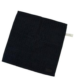 超美品爱马仕HERMES手毛巾黑色棉布100%08HB724