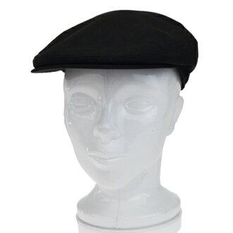 愛馬仕HERMES獵帽帽子黑色棕色棉布亞麻布皮革09BF661