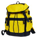6e3446f43932 New coach COACH rucksack backpack bag yellow black nylon leather men F71884  30HD590