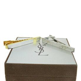 送料無料 【中古】 2点セット クリスチャンディオール Christian Dior イヴサンローラン YVES SAINT LAURENT ネクタイピン シルバー 925 06HD809