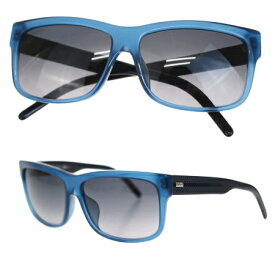 送料無料 【中古】 美品 ディオールオム DIOR HOMME サングラス ブルー ブラック プラスチック BLACKTIE174FS 66ER233