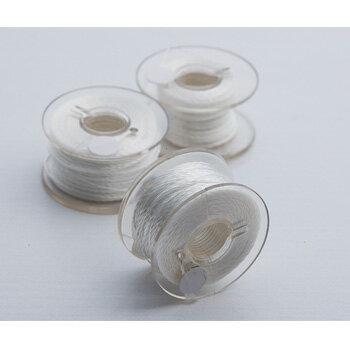 ARD NIMEX(ノーメックス) 縫い糸 25M巻き ホワイト(レーシングスーツへのワッペン縫付けに!)